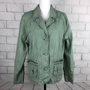 Old Navy utility blazer jacket XXL Pockets